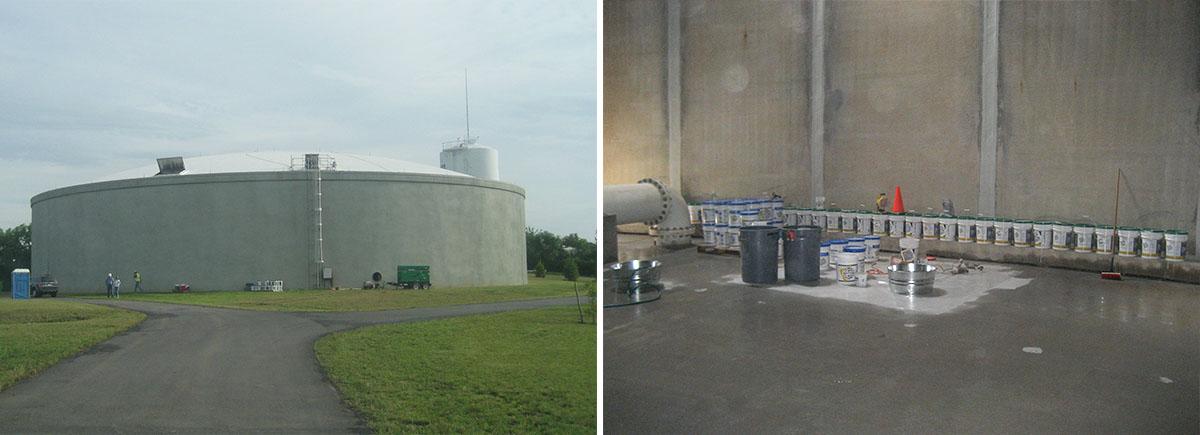 Concrete Tank Repair and Waterproofing
